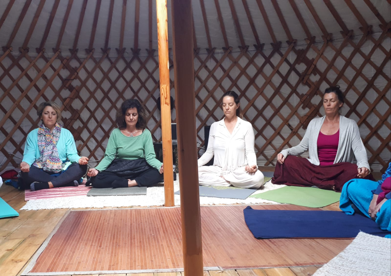 Retreat meditation spain